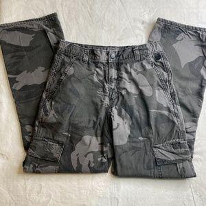 Wrangler Camo Cargo Pants 16R